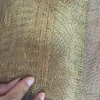硕隆玻璃夹丝装饰玻璃磷铜黄铜材料