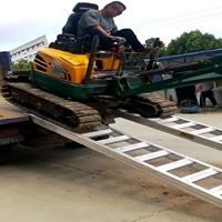 大象牌4.2米輪履式機械專用高強度防滑鋁梯