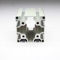 8080工业铝型材 欧标流水线工业铝型材