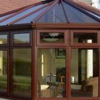 阳光房铝型材及成品安装