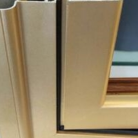 材料烤漆铝合金门窗