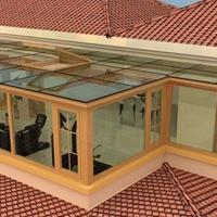厂家生产阳光房铝型材及成品