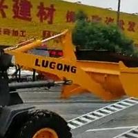 久达大象牌铲车3.8米上下车铝翘板