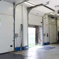 40mm厚厂房电动滑升门