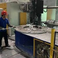 500公斤天然气熔炼炉液化气熔铝炉