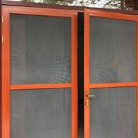 金钢网纱窗 门窗铝型材