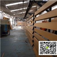 西安吊顶U型铝方通-木纹转印铝方通厂家