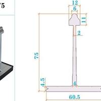 铝合支座430铝镁锰板支架430T码
