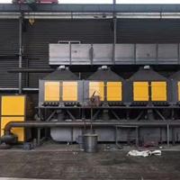 1萬風量催化燃燒設備分解步驟