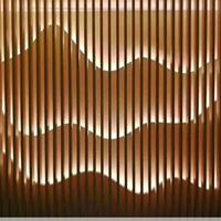 幕墻造型方通_商城裝飾造型幕墻鋁方通