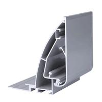 供应80无边拉布LED拉布灯箱铝型材框可定制
