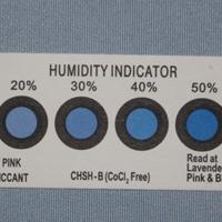 高等准确pcb线路板供用蓝色六点湿度卡