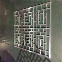 铝巴巴全国定制单板雕花铝花格-仿古铝窗花