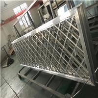 直销建材铝花格、铝窗花生产