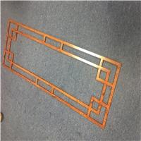 校园装饰镂空铝花格-仿古铝窗花定制
