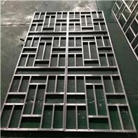 成批出售铝方管焊接铝护栏-木纹铝花格-铝窗花