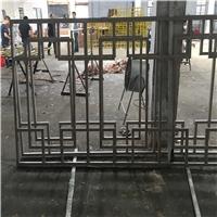 手工焊接型材铝花窗-复式铝花格-随心定制
