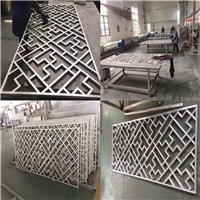 大部分国家供应中式木纹铝花格-防火天花厂家直销