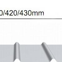 YX65-430直立锁边铝镁锰板