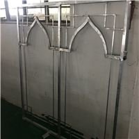 装修改建烤漆型材铝花格-铝窗花定制批发