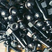鱼尾板配件鱼尾螺栓 紧固件螺栓制造