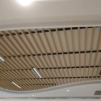 木纹型材铝方通生产安装厂家