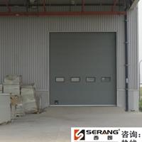 工业厂房大型抗风保温滑升门