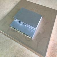 崇匠喷涂铝蜂窝板订做  隔音铝蜂巢板