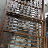 楼房售卖部焊接铝制花格 铝制花窗 门窗
