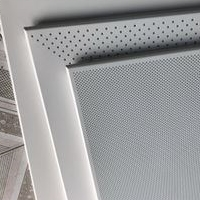 喷涂铝扣板色卡 象牙白铝合金扣板图