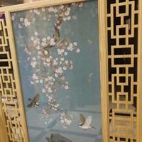 <em>鋁型材</em>木紋窗花裝飾 門窗防盜鋁窗花批發