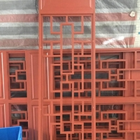 铝窗花批发价格 焊接铝窗花型材加工厂家