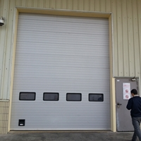 南通开启平稳的工业厂房提升门