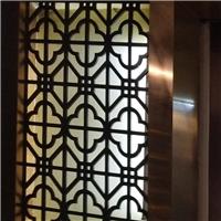 高等定制铝花格 木纹铝花格安装问题介绍