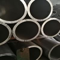擠壓鋁管外徑136內孔88毫米6061鋁管零割
