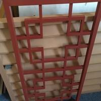 型材方管鋁窗花 仿古中式鋁花格廠家