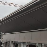 包工字钢冲孔铝单板厂家定制