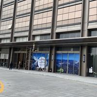 亚朵酒店门头遮风挡雨铝单板生产厂家