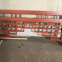 广西钦州厂家直销仿古铝窗花铝幕墙单板铝花格图片大全