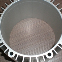 CNC风力发电机外壳,电子散热器来图精加工