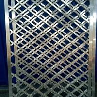 福建南平中式铝窗花木纹铝花格复古型材定制仿木纹铝花格窗