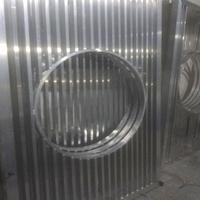 安徽淮北古典木紋鋁窗花木紋鋁窗花廠家