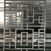 河南许昌门楣铝窗花花格窗定制铝窗花材料批发