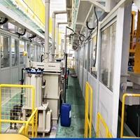 云創達高端鋁件鋁百葉氧化生產線 小型電子元件龍門氧化處理線設備