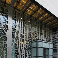 贺州2.0冲孔木纹铝单板 外墙铝单板