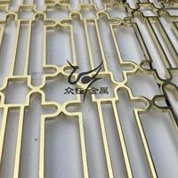 家装铝合金花格窗花屏风安装 材质好 耐腐蚀