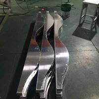 波浪形铝方通-烧焊弧形铝方通