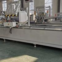 正峰数控断桥铝门窗设备厂家 工业铝型材加工设备 航空铝型材加工设备 金刚网双头切割锯床