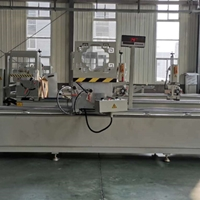 江西南昌的金刚网门窗设备生产厂家报价  金刚网双头切割锯床