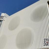 白色弧形铝方通厂家定制
